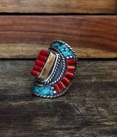Tibetan ring - US Size 7.5