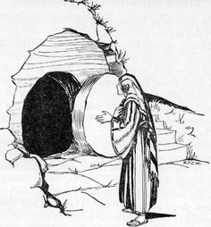 Coloring Page Of Empty Tomb