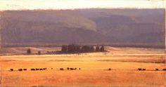 Montana Series - Giclee Print by Michael Workman #michaelworkman #brownstoneart…
