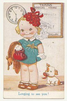 DINAH card 1944 | eBay