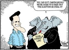 It's the only way Romney can win.