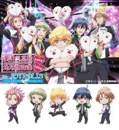Binan Koukou Chikyuu Bouei-bu Love! Love! Tokyo Joypolis campana. Esperando ya la segunda temporada, siiiiiiiiiiiiiiii