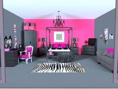 Dream rooms for girls (kjendisstjernene)