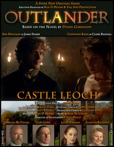 #102 Castle Leoch Poster