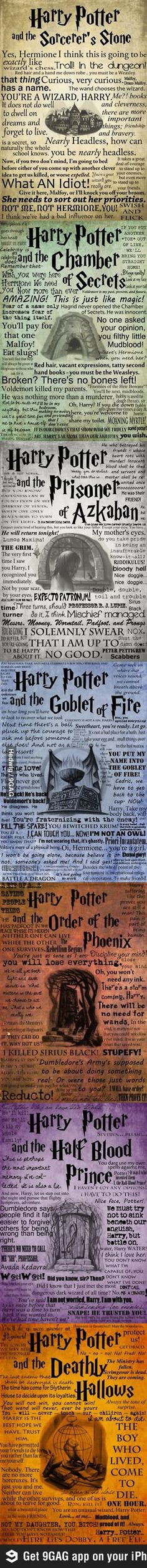 Unforgettable moments from Harry Potter <3