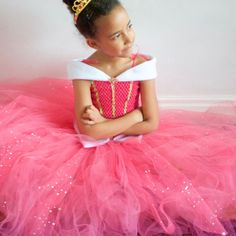Sleeping Beauty Princess Aurora Inspired Tutu by CordeliaRoyle