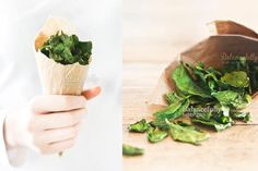 Spinach Crisps (great for all phases - Ideal Protein)