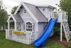 The Sweetheart XL Playhouse by Imagine That Playhouses! The Sweetheart XL Playhouse Backyard Playhouse, Build A Playhouse, Wooden Playhouse, Backyard Playground, Backyard For Kids, Outdoor Playhouses, Cubby Houses, Play Houses, Casa Wendy