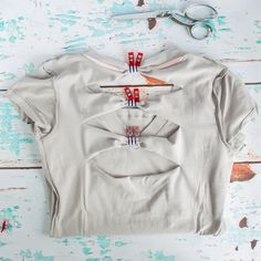 no sew bow back tee