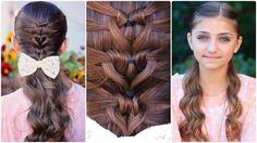 Mermaid Heart Braid | Cute Valentine's Day Hairstyles