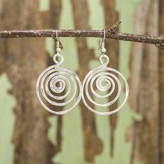Whirlpool Earrings - Anju Jewelry
