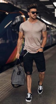Best Smart Casual Outfits, Stylish Summer Outfits, Outfits Casual, Mode Outfits, Men Casual, Best Summer Outfits Men, Men's Casual Wear, Casual Outfit For Men, Smart Casual Man