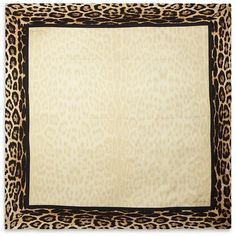 ROBERTO CAVALLI Leopard Border Silk Scarf and other apparel, accessories and trends. Browse and shop 11 related looks.