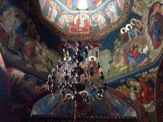 Church fresco Monastery Icons, Fresco, Spirituality, Places, Painting, Art, Art Background, Fresh, Painting Art