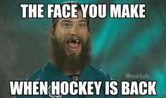 Haha oh Burnsie! We sure miss you here in Minnesota! Hockey Memes, Hockey Quotes, Funny Hockey, Sport Quotes, Rangers Hockey, Blackhawks Hockey, Chicago Blackhawks, Hockey Baby, Hockey Girls