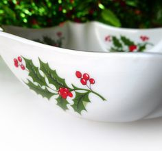 vintage christmas candy dish or bowl for snacks by mrfilthyrotten 900 - Christmas Candy Dish