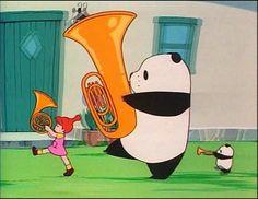 Panda! Go Panda! (1972) - directed by Isao Takahata; screenplay and original concept by Hayao Miyazaki