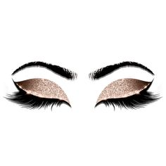Makeup Beauty Salon Rose Glitter Flyer Browns Lash | Zazzle.com