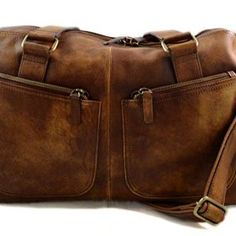 Dark-brown-washed-leather-travel-bag-leather-duffle-bag-leather-small-duffel-genuine-leather-travel-bag-leather-weekender-small-gym-bag-0