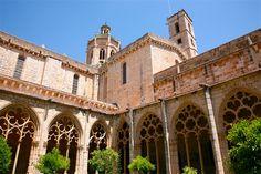 Monastère de Santa Creus, Tarragone - Costa Dorada (Espagne)