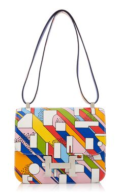 9bbb4be04e88 Hermès 24cm Printed Swift Constance by HERITAGE AUCTIONS SPECIAL  COLLECTIONS for Preorder on Moda Operandi Hermes