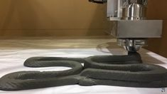 3D printing concrete made from fly ash and steel slag 1