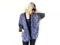 Bohème Kimono Kimono Cardigan veste légère d'été par ALUMAhandmade
