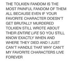 YES PAIN!!!! The only relief is that even if elves die they still have a chance of coming back in the future but still...