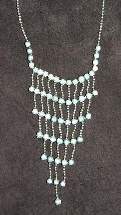 Beaded Necklace Slinky Boho Style