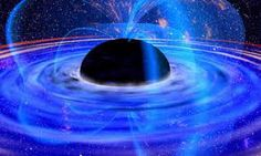 The event horizon of a black hole is a spherical or spheroidal region from which nothing, not even light, can escape. But outside the event horizon, the black hole is predicted to emit radiation. Cosmos, Stephen Hawking, Expanding Universe, Quantum Physics, Theoretical Physics, Quantum Mechanics, Out Of This World, Milky Way, Space And Astronomy