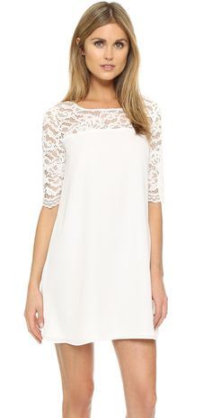 BB Dakota Fisher Lace Mini Dress   SHOPBOP