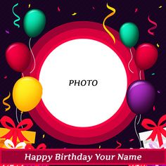 Are you searching for new and latest write name on birthday card photo frames? Happy birthday greeting card with name and photo generator. Get free happy birthday cards with name and photo edit. Birthday Wishes With Photo, Happy Birthday Wishes For A Friend, Birthday Wishes With Name, Birthday Wishes For Kids, Birthday Photo Frame, Happy Birthday Frame, Happy Birthday Wishes Images, Birthday Gift Cards, Happy Birthday Flower