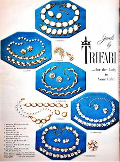 TRIFARI Vintage Jewelry