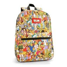 Mochila The Simpsons Springfield R$ 99,90
