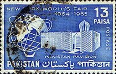 Pakistan Stamps 1964 New York World's Fair SG 213 Fine Used Scott 206 Other Asian and British Commonwealth Stamps HERE!