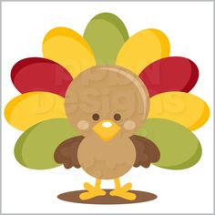 PPbN Designs - Cute Turkey (Free for Basic and Deluxe Members), $0.00 (http://www.ppbndesigns.com/products/cute-turkey-free-for-basic-and-deluxe-members.html)