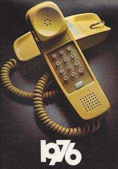 [ Telefone ] 1976 Can't be real ~ just look at the perfectly coiled cord Vintage Phones, Vintage Ads, Vintage Items, Vintage Advertisements, Great Memories, Childhood Memories, School Memories, Childhood Toys, School Days