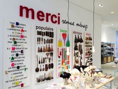 Merci Amsterdam: pop-up store at Hotel Droog!