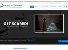 This clean paranormal website is not as creepy as most. The layout is informative and friendly while easy to navigate.
