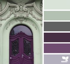 { a door color } image via: @marjamatkalla