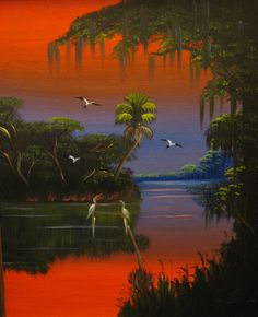 Select paintings by Florida Highwaymen artist Al Black