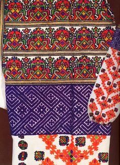 Embroidery of Zastawna county, Cherniwtsi oblast, Bukovyna, Ukraine - with patterns