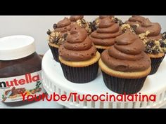 How to do Nutella Buttercream Cooking Food, No Cook Meals, Frosting, Fondant, Butter, Youtube, Desserts, Fun, Cooking Recipes