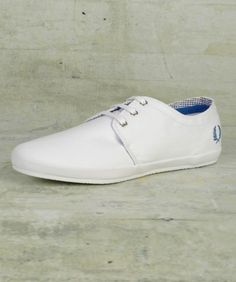 Finn sneakers from Fred Perry.  Clean, springy, leisure-ready