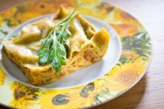 Chicken pesto lasagna