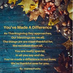 Thanksgiving Poems, Wishes, Sayings: Celebrate Blessings