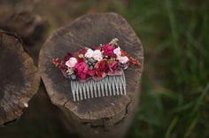 Blumen Haarspange für besondere Anlässe und Alltag :)