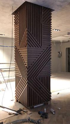 Feature Wall Design, Wall Panel Design, Column Design, Wall Decor Design, Deco Design, Ceiling Design, Wooden Wall Design, Home Room Design, Home Interior Design