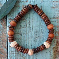 Love is a Seed  Bone Bracelet by LoveisaSeed on Etsy, $9.00