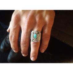 Sterling Thunderbird ring